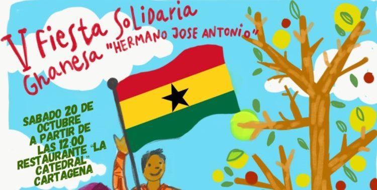 V Fiesta Solidaria Ghanesa en Cartagena