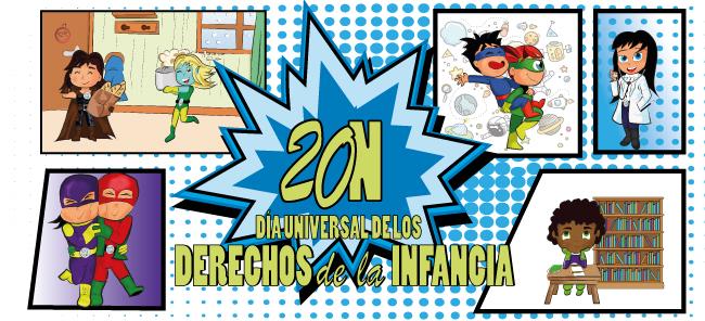 20N: Vuelven los Mini Guardianes para proteger los Derechos de la Infancia