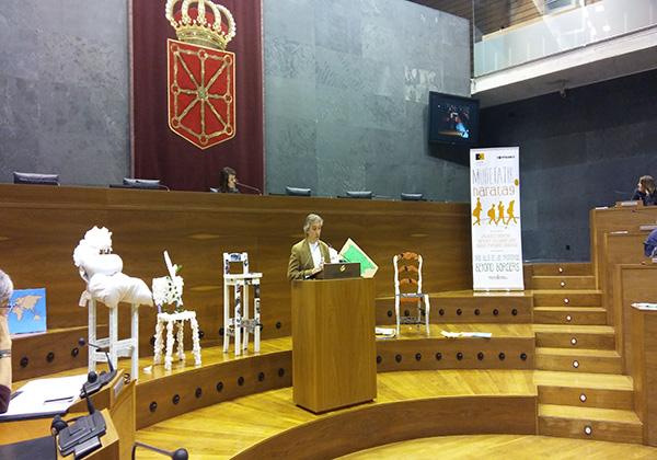 SED, invitada  al Parlamento de Navarra