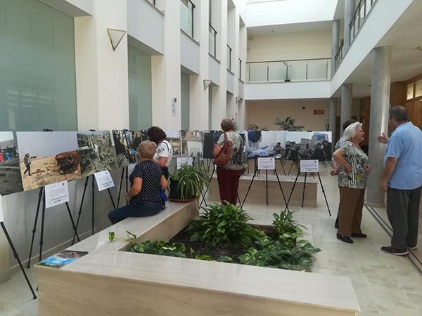 Jornadas de sensibilización sobre la guerra en Siria en San José del Valle, Cádiz