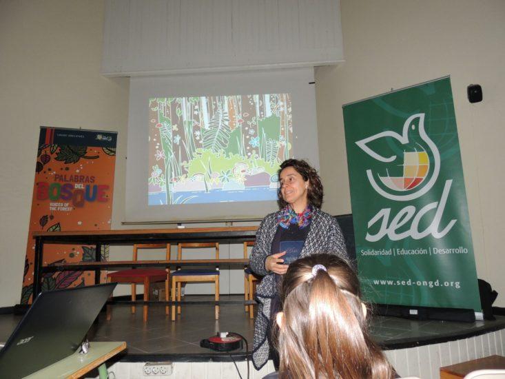 Presentación libro 'Palabras del Bosque' en Villamuriel del Cerrato, Palencia