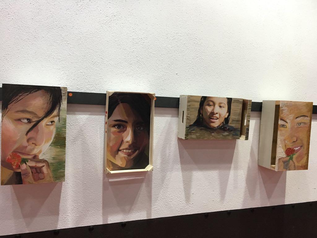 Exposición solidaria en Jaén por el Derecho a la Educación en Bolivia