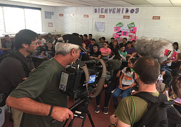 Finaliza el viaje a Guatemala y El Salvador con TVE