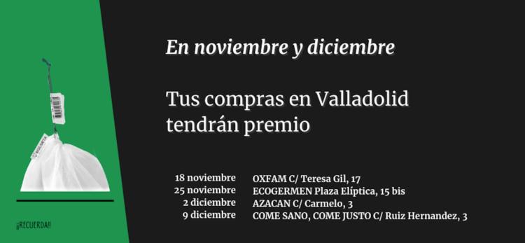 Nueva campaña de Consumo Responsable en Valladolid