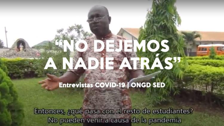 Entrevista al Hermano John Kusi y a Fernando Rodríguez, voluntario de SED