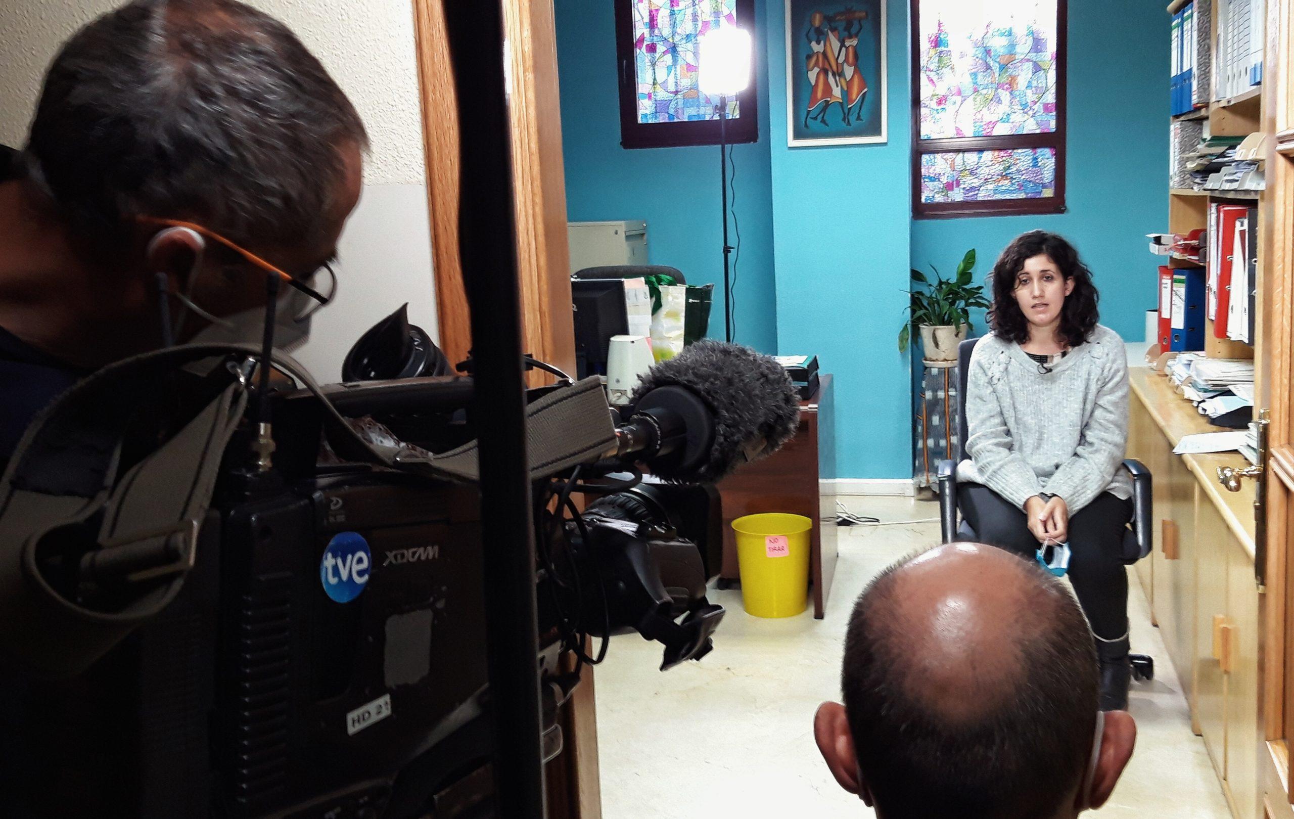 El equipo de SED, entrevistado para el nuevo programa de Pueblo de Dios