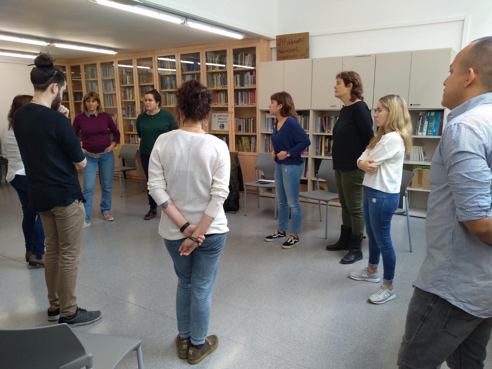 Formación sobre Justicia Global en SED Cataluña