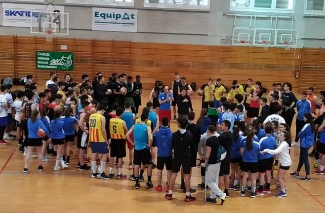 El Club Unión Maristas Girona organiza un torneo de baloncesto solidario en beneficio de SED