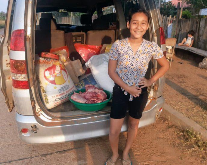 Nuevos repartos de comida en el comedor 'Buena Madre' de San José de Chiquitos en Bolivia